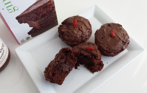 Ginny Bakes bake mix and Barefoot & Chocolate brownies