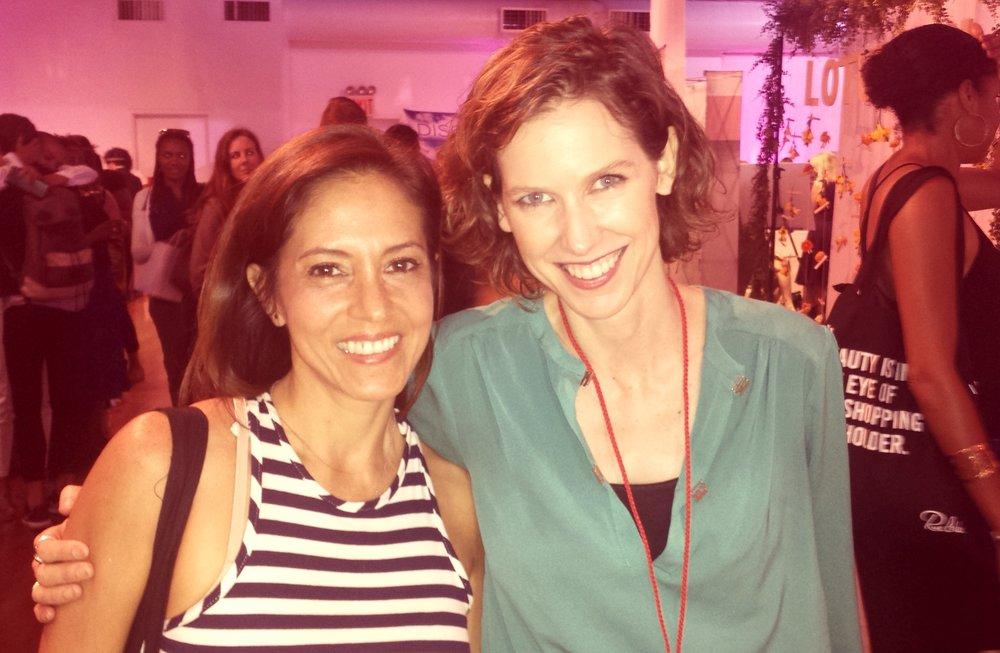 Siempre un placer conversar con la maquilladora y fundadora del Green Beauty Team, Kristen Arnett