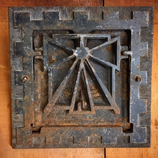 Art Deco Heating Grate