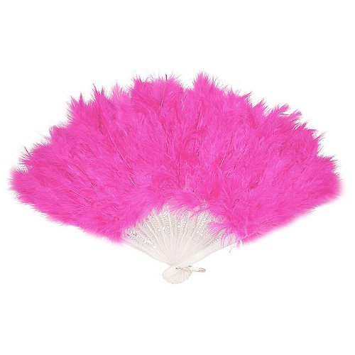hot pink feather fan photo booth prop | Hot Pink Photo Booth | DC Photo Booth Rental