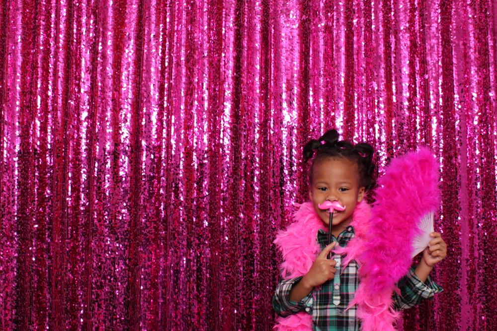 DC Photo Booth Rental | Hot Pink Photo Booth | Kids Photo Booth