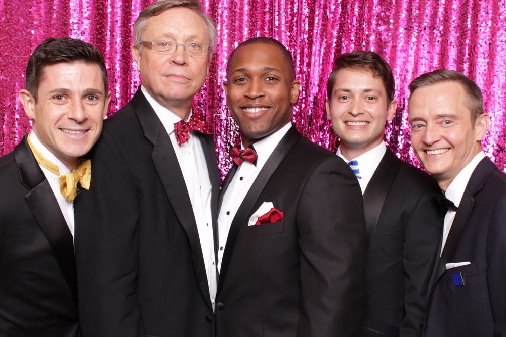 GAY MEN'S CHORUS OF DC | HOT PINK PHOTO BOOTH