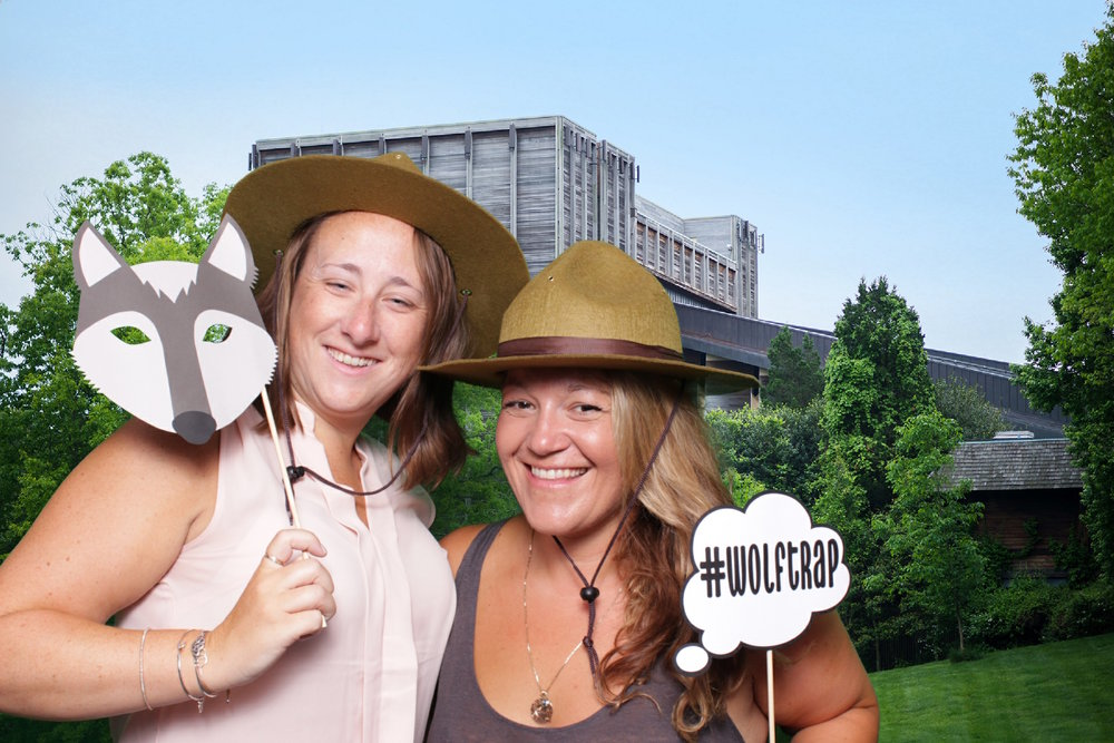 WOLF TRAP #NPS100 | HOT PINK PHOTO BOOTH