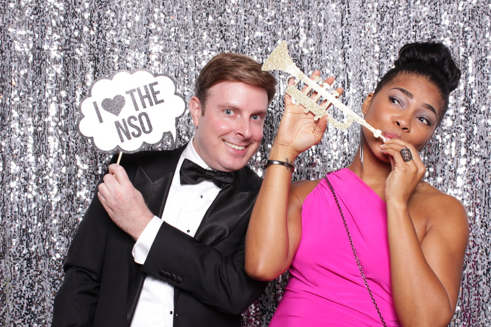 NSO SEASON OPENING GALA | HOT PINK PHOTO BOOTH