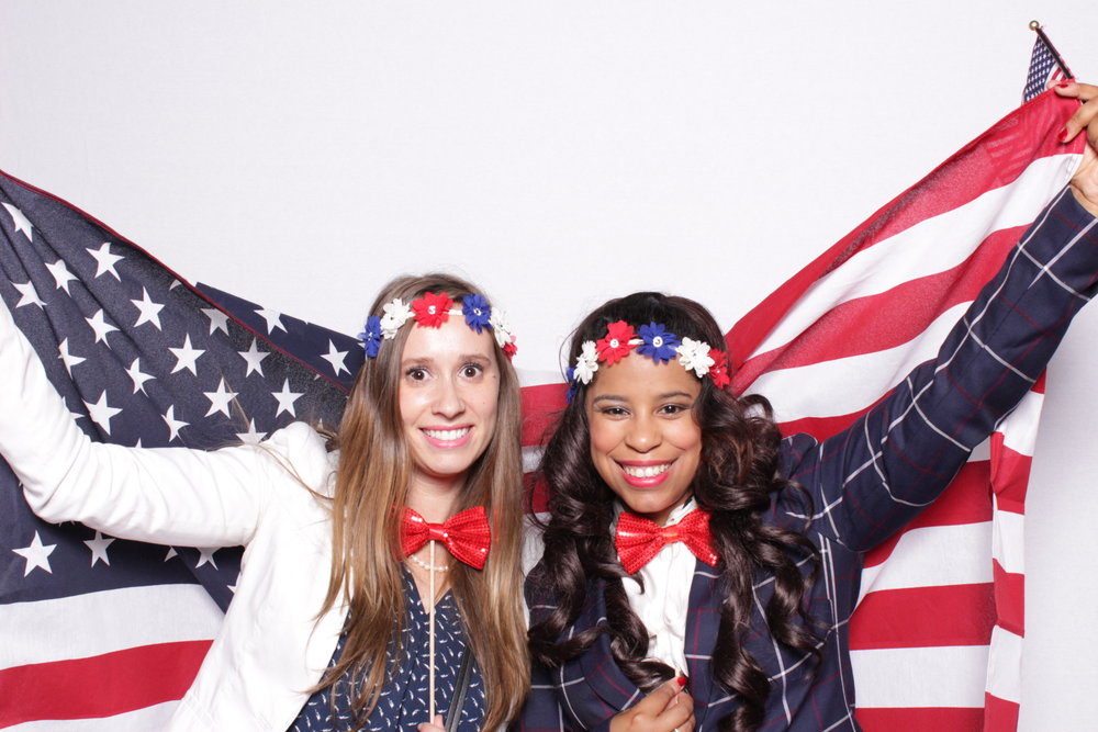 WEWORK & LAYER3 TV ELECTION NIGHT WATCH PARTY | HOT PINK PHOTO BOOTH