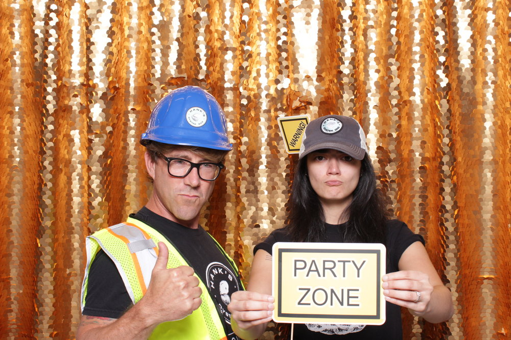 HARD HATS AT HINE | HOT PINK PHOTO BOOTH