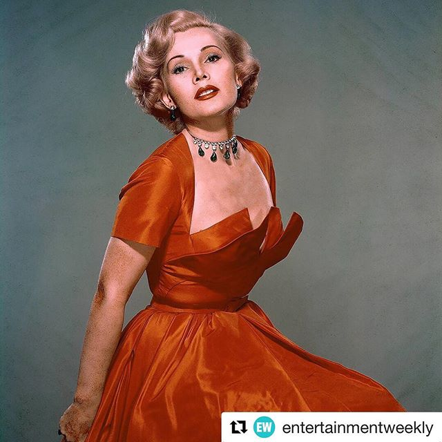A life well-lived. #icon #diva #legend ••• Iconic actress and socialite #ZsaZsaGabor died Sunday at age 99. The glamorous Hungarian beauty starred in such films as 1952's #MoulinRouge, 1953's #Lili, and 1954's #RingCircus, but there was no role that attracted more acclaim, vitriol, and attention than the one Zsa Zsa Gabor played her entire life: herself. 📷: Keystone-France/Gamma-Keystone via Getty Images #repost @entertainmentweekly