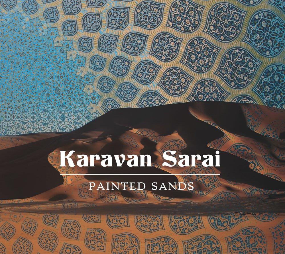 Karavan Sarai 'Painted Sands' CD Cover.jpg