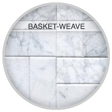 Basket-Weave Tile Pattern