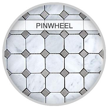 Pinwheeel  Tile Pattern