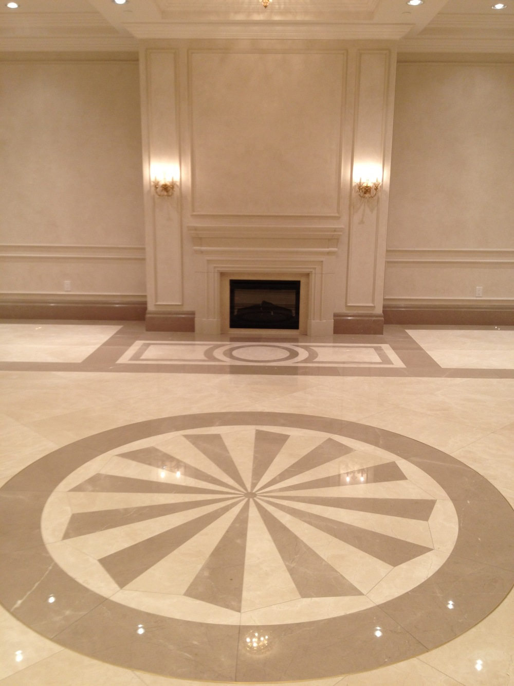 We specialize in custom tile work