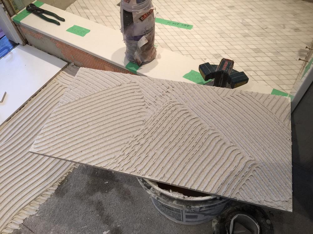 Back Buttered Tile