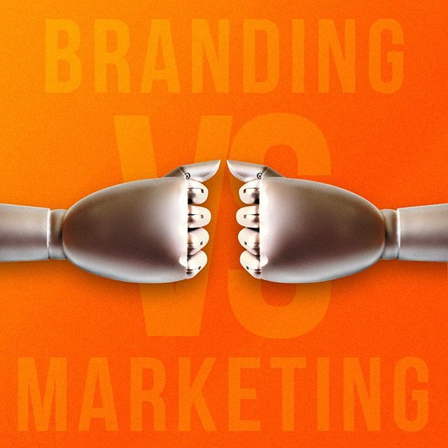 Do you know the difference between branding and marketing? Read our answer on the blog! Link in bio