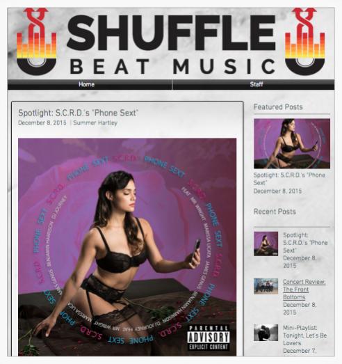 Phone Sext | Shuffle Beat Music