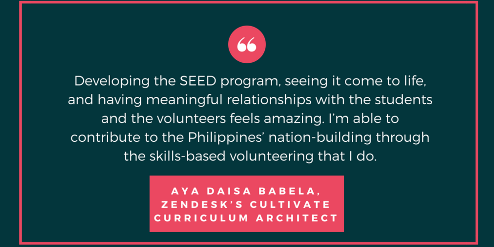Aya Daisa Babela, Zendesk's Cultivate curriculum architect.png