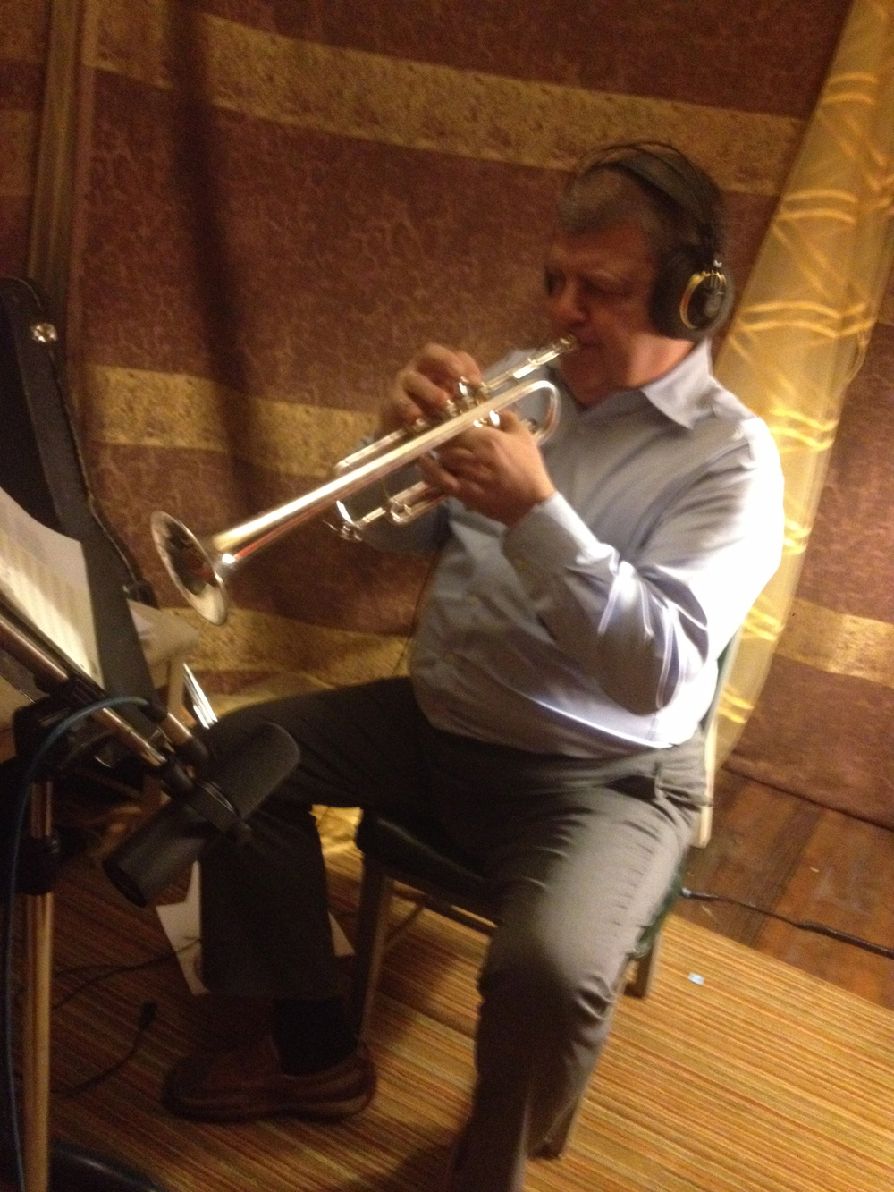 Don Kortlandt, the trumpet behind  Sancho