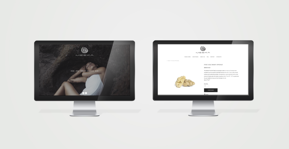 Meeka Body - Website Design