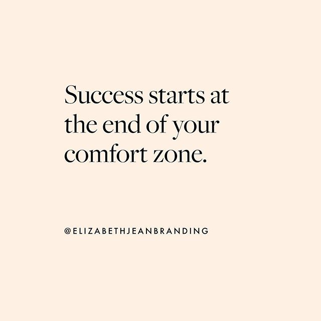 Monday Motivation - take the risk, step outside your comfort zone and find your success! Let us help you on your entrepreneurial journey. EJB 🖤admin@elizabethjeanbranding.com . . Pic via behance #graphicdesign #melbourne #style #logo #ejb #branding #webuildbrands #logos #packagedesign #graphicdesigner #businesswoman #designfirm #logodesigner #behance #packagingdesign #bossbabe #grateful #web #studio #monochrome #websitedesign #quoteoftheday #pink #studiolife #brandidentity #bosslady #studioflow #logodesigner #logotype #womeninbusiness