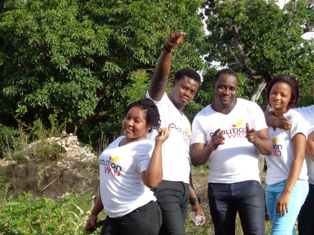 CoalitionWILD Ambassadors in Haiti.