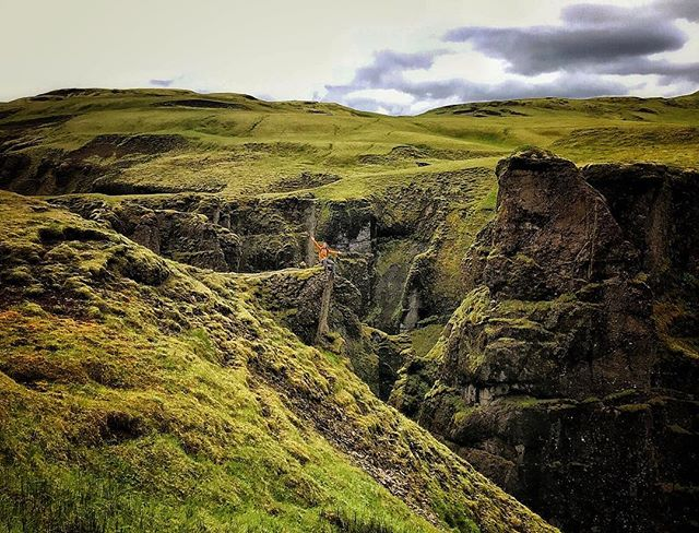 It's like Where's Waldo and Fifty Shades of Green came together to create this photo. #iceland