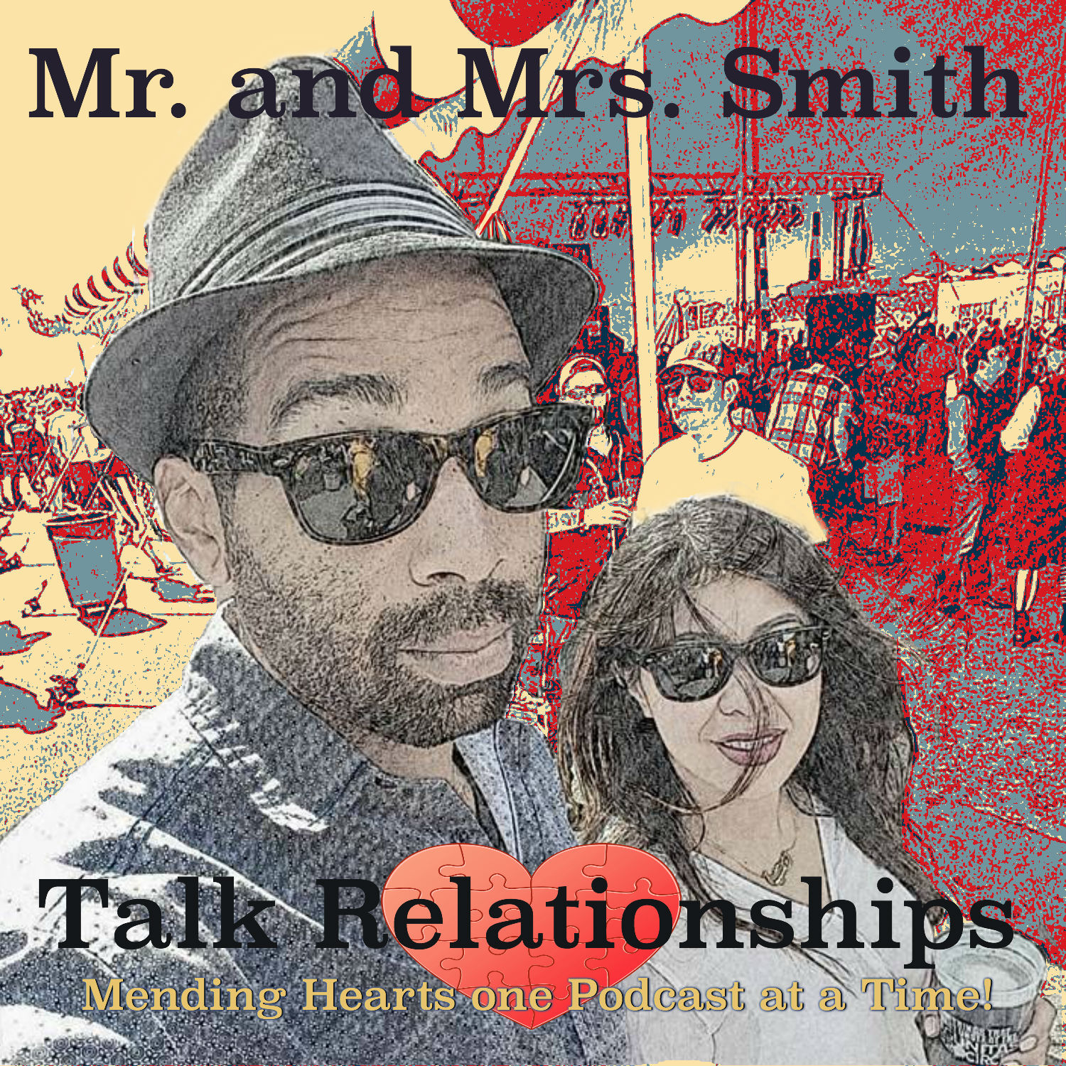 Mr. and Mrs. Smith Talk Relationships - Mr. and Mrs. Smith Comedy
