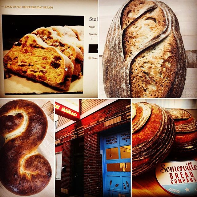 """On the sixth day of Xmas my true love gave to me...six """"SBC Pre-Order"""" loaves a leaping. www.somervillebreadcompany.com"""
