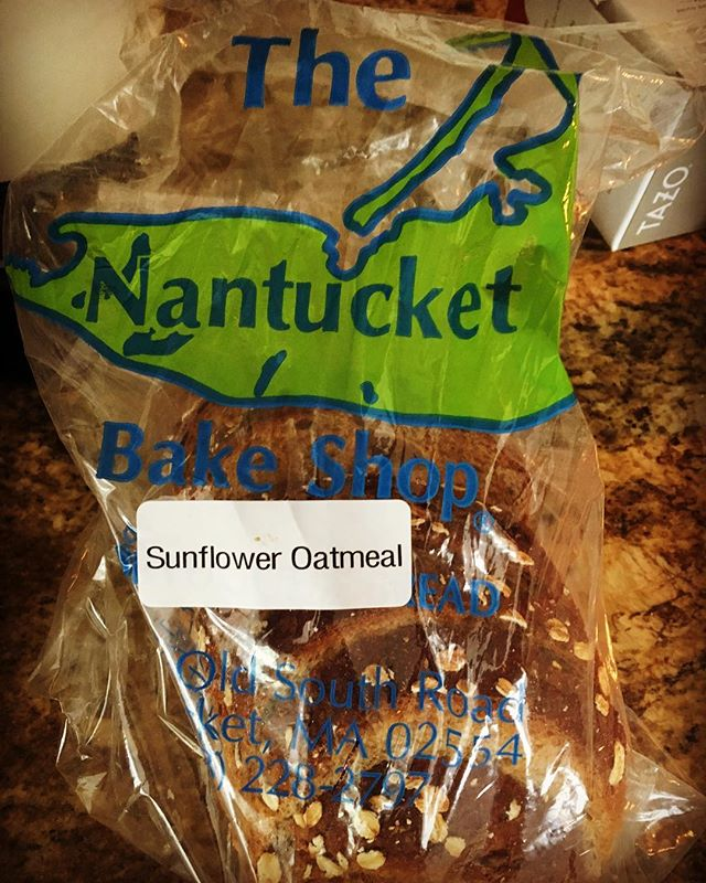 From one baker to another baker... The Nantucket Bake Shop's Sunflower Oatmeal is worth trying.  Great Job! #nantucketbakeshop #breadtour #somervillebreadcompany
