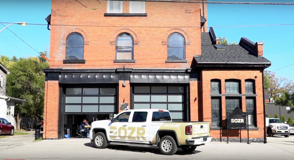The DOZR office is conveniently located in the heart of the Innovation District in downtown Kitchener. Walking distance to transit hubs, parking, top quality restaurants, trendy coffee shops, and more. Did we mention parking?