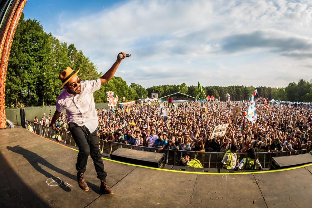 Mr. Carmack At The Electric Forest, Sherwood Court, Rothbury, MI, USA (June 25th) (2015)