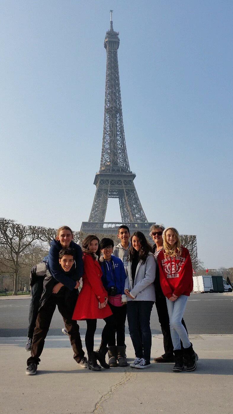 7th/8th Grade Europe Trip