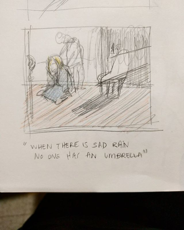 Here's my 45 second thumbnail. Gotta make more comps for the new boards coming in. . . . . #sketch #sketchbook #art #artistsoninstagram #instaart #artist
