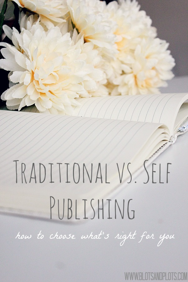 Traditional vs. Self Publishing