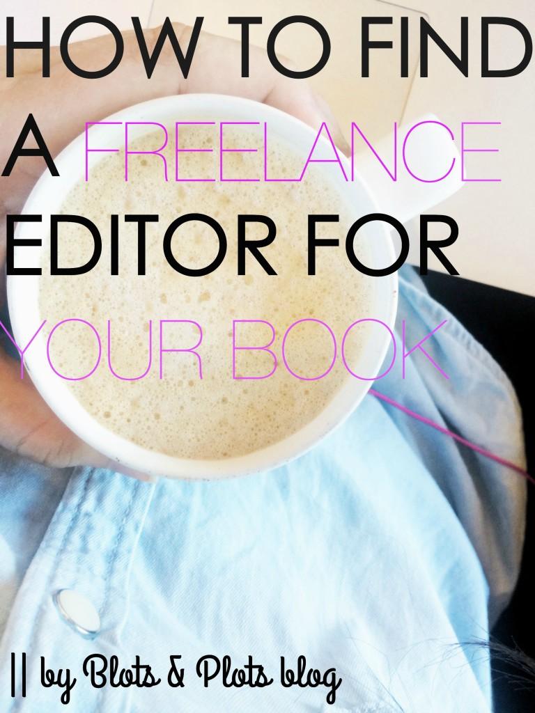 find a freelance editor