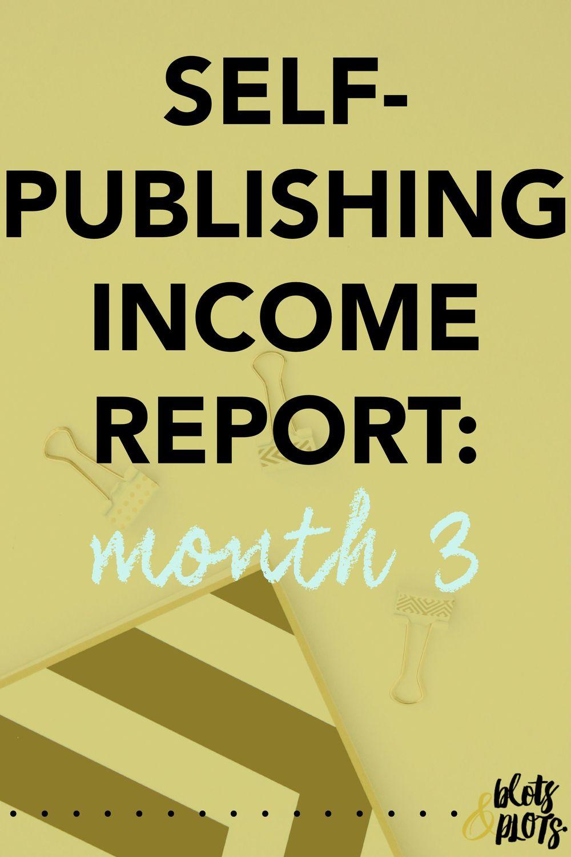 self-publishing income report