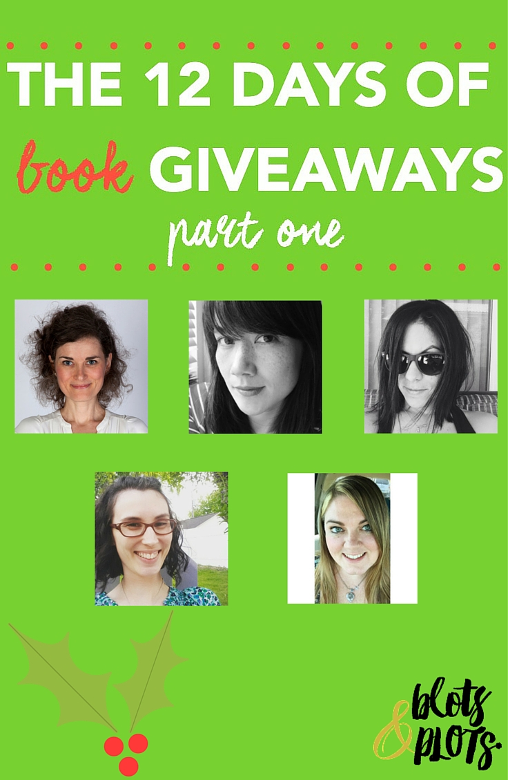 12 Days of Book Giveaways | Blots & Plots
