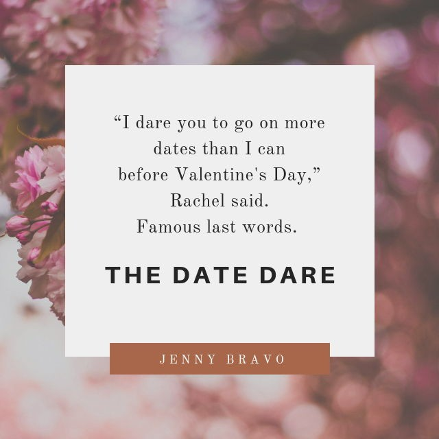 I dare you to share your awkward dating story in the comments.⁣ THE DATE DARE cover dropped last week!⁣ Ready for a Valentine's Day romantic comedy that is funny & swoon-worthy?⁣ I'm announcing the release date soon!⁣ In the meantime, don't forget to sign up for an ARC if you are a book blogger. The link is in the bio.⁣ Now...⁣ spill those awkward date stories. 😉👇🏻⁣ D⁣ A⁣ T⁣ E⁣ D⁣ A⁣ R⁣ E⁣ #amwritingromance #indieauthor #selfpublishing #booksbooksbooks #writergram #indieauthorsofinstagram #writinglife #creativespace #chictribe #authorsofig #authorlife #communityofwriters #communityofchristiancreatives #creativewriter #creativewomen #createcultivate #heretocreate #createart #beingboss #mycreativebiz #theeverygirl #risingtidesociety #makersgonnamake #goaldigger #dreamersanddoers #amwriting #igreads #bookaddict #readmore #bookstagramfeature