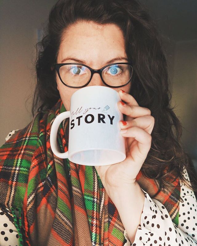 "🙌🏻 GIVEAWAY 🙌🏻 TELL YOUR STORY. To the one with the laptop writing late into the night. To the one with the blank canvas. To the one with an idea that you can't shake. To the one with big dreams and a busy life. It's time to tell your story.  I am giving away one of these pretty TELL YOUR STORY mugs that I created to remind myself of my creative goals. And now, I want you to have one, too! To enter, we will keep it simple! Like this post & share a ""one-day-I-will"" dream in the comments. 👇🏻 Y O U R S T O R Y #amwritingromance #indieauthor #selfpublishing #booksbooksbooks #writergram #indieauthorsofinstagram #writinglife #creativespace #chictribe #authorsofig #authorlife #communityofwriters #communityofchristiancreatives #creativewriter #creativewomen #createcultivate #heretocreate #createart #beingboss #mycreativebiz #theeverygirl #risingtidesociety #makersgonnamake #goaldigger #dreamersanddoers #booknerdigans #dscolor #abmlifeiscolorful #tnchustler #communityovercompetition"