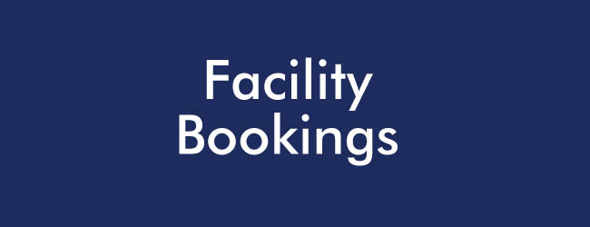 Facility bookings