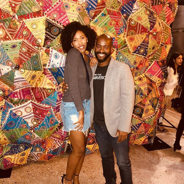 At the MODA X South Asia show. 📸@fashionx.co @lzratx @ayana.williams had a blast! #fashionx #austin #austinfashion