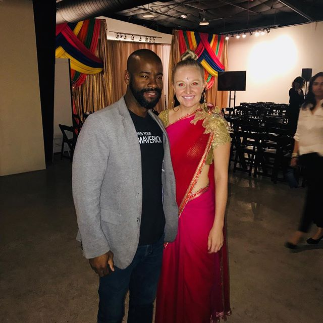At MODA X South Asia 🌺 extremely excited, inspired and proud of ya KB @hue.go.girl @fashionx.co #austinfashion  #fashionx #kylieinaustin #monksnmavericks #monksandmavericks