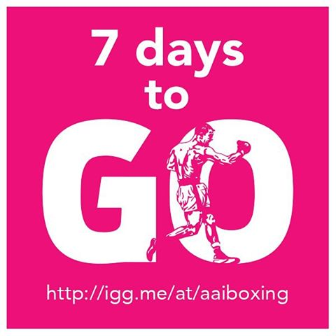 There is only 1 Week To Go in the AAIB #Boxing #Scholarships Nonprofit Fundraiser on @Indiegogo: http://igg.me/at/aaiboxing. #Donate to these worthy athletes. Support a ‪#‎BoxingScholar today.