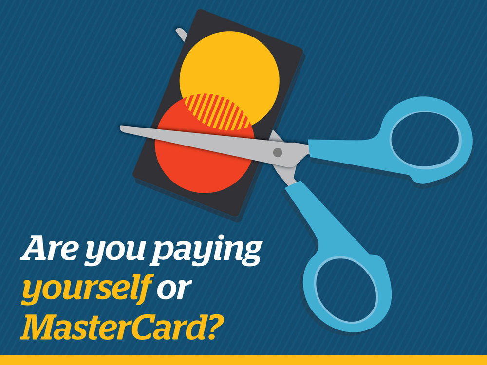 Yourself or Mastercard