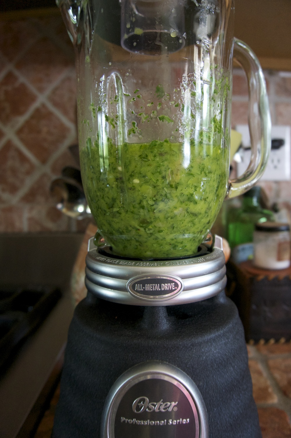 A quick spin in the blender is all it takes!