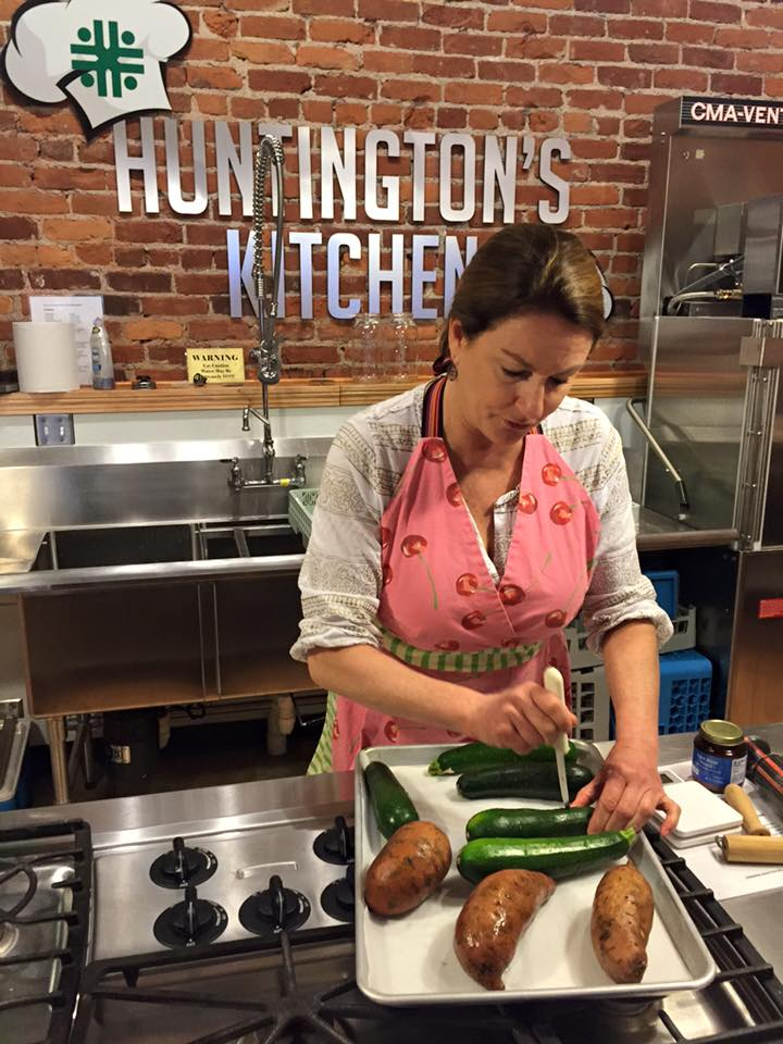 Huntington's Kitchen is now a collaborative teaching kitchen which partners Cabell-Huntington Hospital and Marshall University Department of Dietetics to enhance, promote, and improve healthy eating.