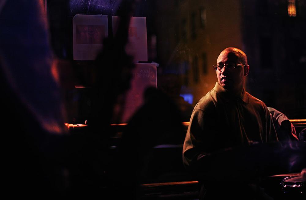 Drummer, Harlem, 2008
