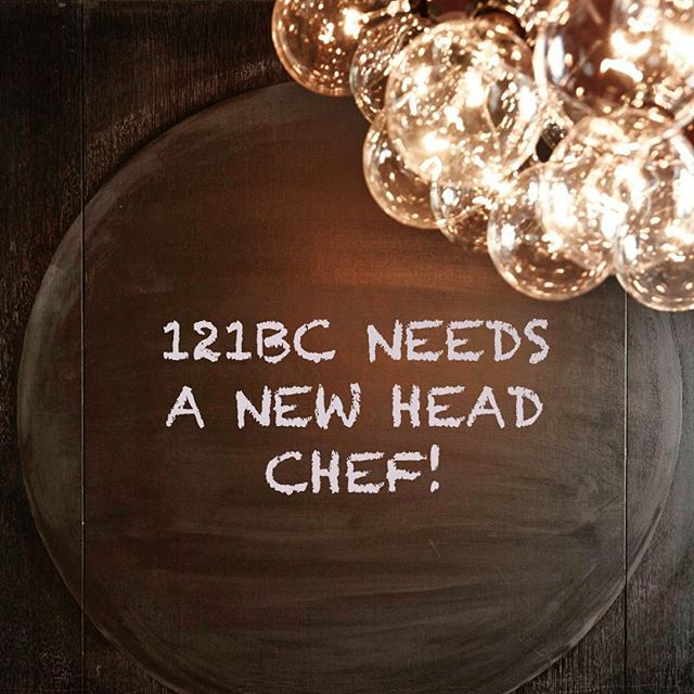 We're looking for a creative and experienced chef with ability to work solo and managed our small kitchen. Our menu change every week and we 're focus on seasonal products. If you're interested please email you resume to info@121bc.com.au. #surryhills #sydney #winebar #121bcfood #foodporn #menu #localfood #sydneyfoodie #jobopportunity #job #chefneeded #italianfood #spreadtheworld #jobposition #chef💯#chefs #chef