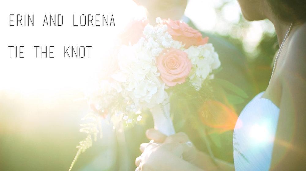 Erin and lorena wedding video / 2017