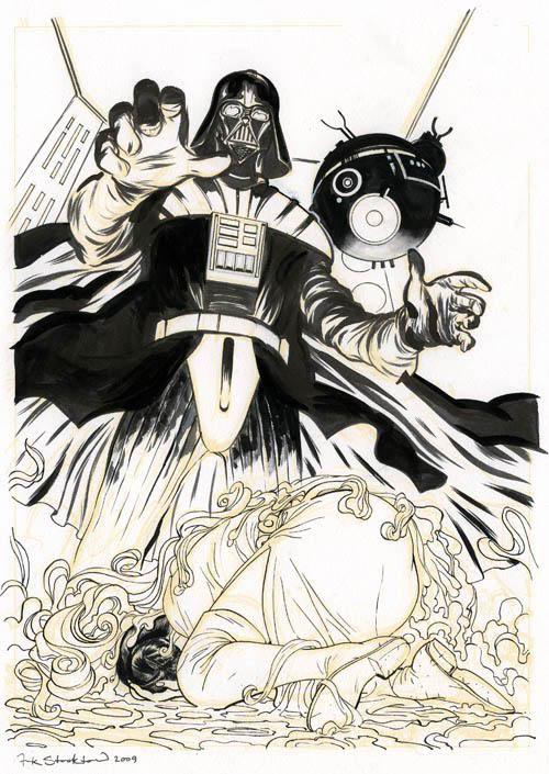 Frank Stockton | Vader Interrogates Leia