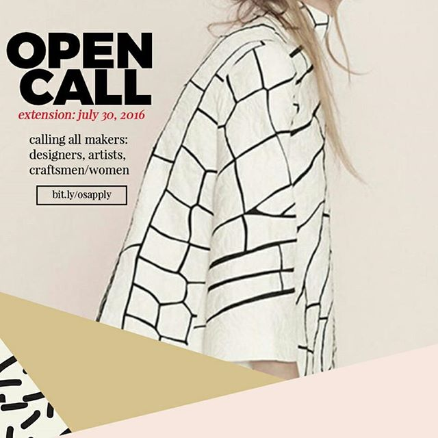 Calling all makers, designers, artist, craftsmen & women!  Our application has been extended to July 30th.  If you know a creative that might be interested tag them!  #popupshop #designers #opencall #designers