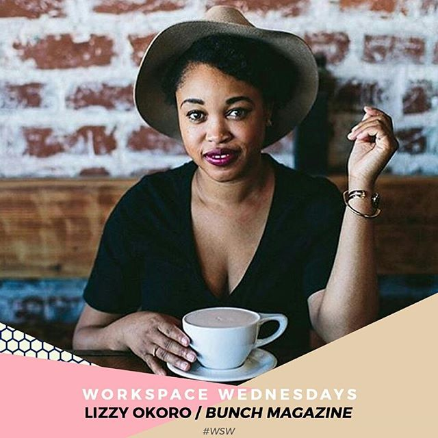 We had a Skype date with @lizzyokoro, the creative mind behind @bunchmagazine. We chatted about business, taking the creative leap and some of her favorite creatives.  Click the link in the link to read Lizzy's interview and other updates on the blog.  #wsw #workspacewednesday #creativeinfluencers